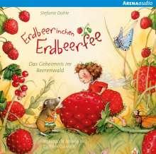 Stefanie Dahle: Erdbeerinchen Erdbeerfee. Das Geheimnis im Beerenwald und andere Geschichten, CD
