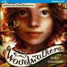 Katja Brandis: Woodwalkers (3). Hollys Geheimnis, 4 CDs