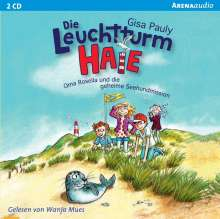 Gisa Pauly: Leuchtturm-HAIE (1). Oma Rosella und die geheime Seehundmission, 2 CDs