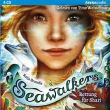 Seawalkers-Rettung für Shari (2), 4 CDs