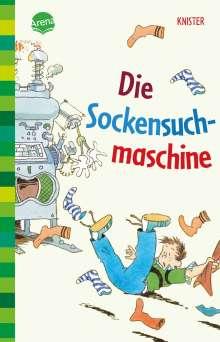 Knister: Die Sockensuchmaschine, Buch
