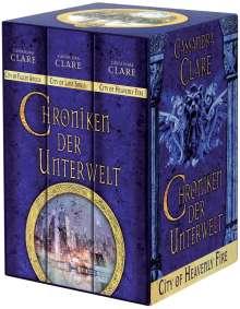 Cassandra Clare: Chroniken der Unterwelt 04-06, Buch