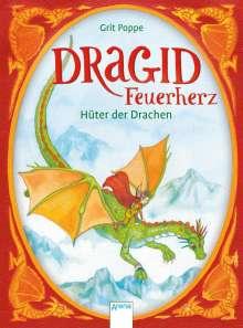 Grit Poppe: Dragid Feuerherz (1). Hüter der Drachen, Buch