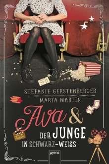 Stefanie Gerstenberger: Ava und der Junge in Schwarz-Weiß, Buch