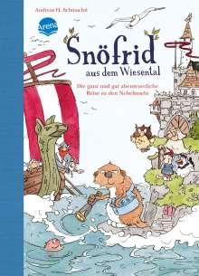 Andreas H. Schmachtl: Snöfrid aus dem Wiesental 02. Die ganz und gar abenteuerliche Reise zu den Nebelinseln, Buch