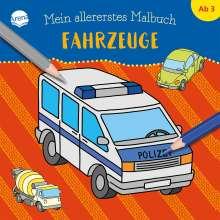 Mein allererstes Malbuch. Fahrzeuge, Buch