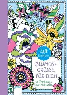 Blumengrüße für dich, Buch