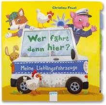 Hanna Röhling: Wer fährt denn hier? Meine Lieblingsfahrzeuge, Buch