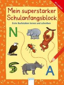 Krapp Christiane: Erste Buchstaben lernen und schreiben, Buch