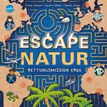 Thomas Jacquet: Escape Natur. Rettungsmission Erde, Buch