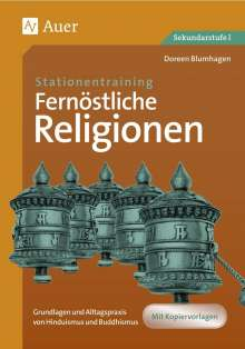 Doreen Blumhagen: Stationentraining Fernöstliche Religionen, Buch