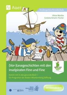 Cordula Amann-Fischer: (Vor-)Lesegeschichten mit den Inselpiraten, Buch