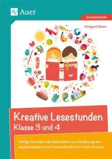 Edelgard Moers: Kreative Lesestunden Klasse 3 und 4, Buch