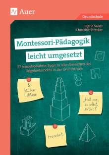 Ingrid Sauer: Montessori-Pädagogik leicht umgesetzt, Buch