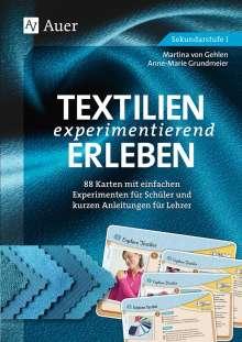 Anne-Marie Grundmeier: Textilien experimentierend erleben 7-10, Buch