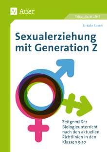 Ursula Rosen: Sexualerziehung mit Generation Z, Buch
