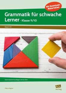 Milena Angioni: Grammatik für schwache Lerner - Klasse 9/10, 1 Buch und 1 Diverse