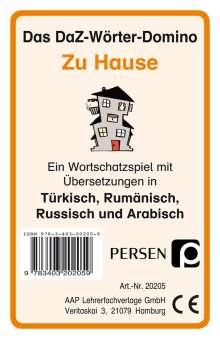 Klara Kirschbaum: Das DaZ-Wörter-Domino: Zu Hause, Diverse