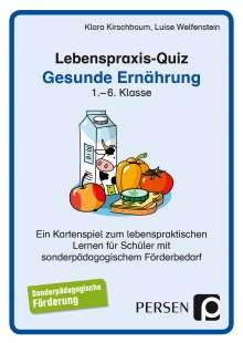 Klara Kirschbaum: Lebenspraxis-Quartett: Gesunde Ernährung, Diverse