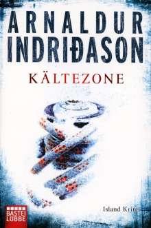 Arnaldur Indridason: Kältezone, Buch
