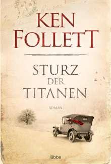 Ken Follett (geb. 1949): Sturz der Titanen, Buch