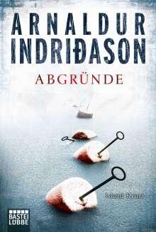Arnaldur Indriðason: Abgründe, Buch