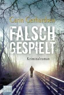 Carin Gerhardsen: Falsch gespielt, Buch