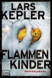 Lars Kepler: Flammenkinder, Buch