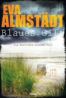 Eva Almstädt: Blaues Gift, Buch