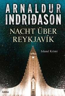 Arnaldur Indridason: Nacht über Reykjavík, Buch