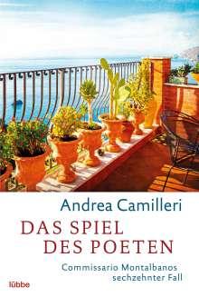 Andrea Camilleri (1925-2019): Das Spiel des Poeten, Buch