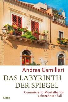 Andrea Camilleri (1925-2019): Das Labyrinth der Spiegel, Buch