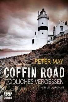 Peter May: Coffin Road - Tödliches Vergessen, Buch