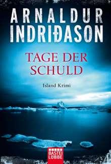 Arnaldur Indriðason: Tage der Schuld, Buch