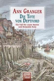 Ann Granger: Die Tote von Deptford, Buch
