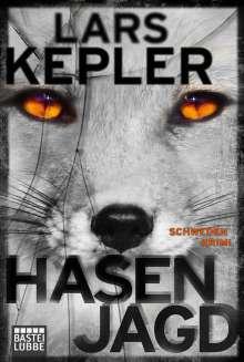 Lars Kepler: Hasenjagd, Buch