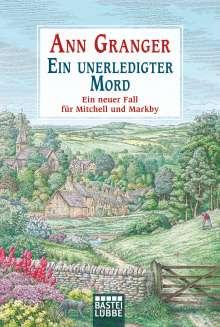 Ann Granger: Ein unerledigter Mord, Buch