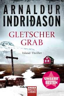 Arnaldur Indriðason: Gletschergrab, Buch