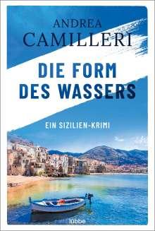Andrea Camilleri (1925-2019): Die Form des Wassers, Buch