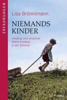 Lisa Brönnimann: Niemandskinder, Buch
