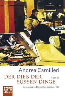 Andrea Camilleri (1925-2019): Der Dieb der süßen Dinge, Buch