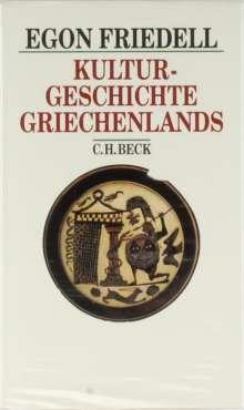 Egon Friedell: Kulturgeschichte Griechenlands, Buch