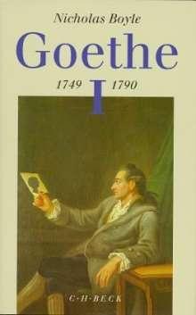 Nicholas Boyle: Goethe 1749 - 1790, Buch