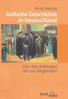 Arno Herzig: Jüdische Geschichte in Deutschland, Buch