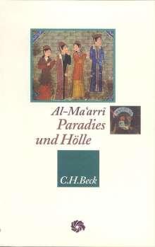 Abu l'Ala Al-Maarri: Paradies und Hölle, Buch