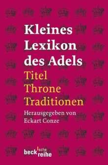 Kleines Lexikon des Adels, Buch