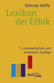 Otfried Höffe: Lexikon der Ethik, Buch