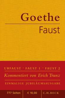 Johann Wolfgang von Goethe: Faust, Buch