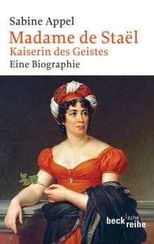 Sabine Appel: Madame de Staël, Buch