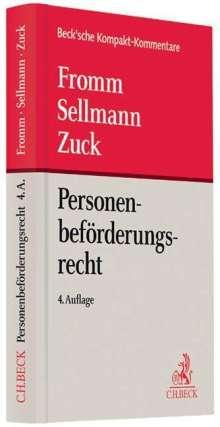 Klaus-Albrecht Sellmann: Personenbeförderungsrecht, Buch